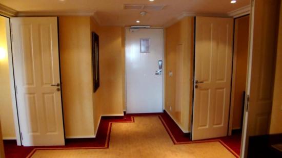 une entrée de la Suite Royale du Dream Castle