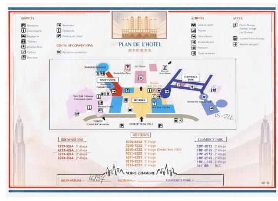 Plans Of Hotels Disney To Disneyland Paris