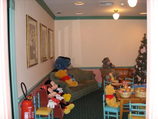 Le coin bébé à Disneyland, baby care center