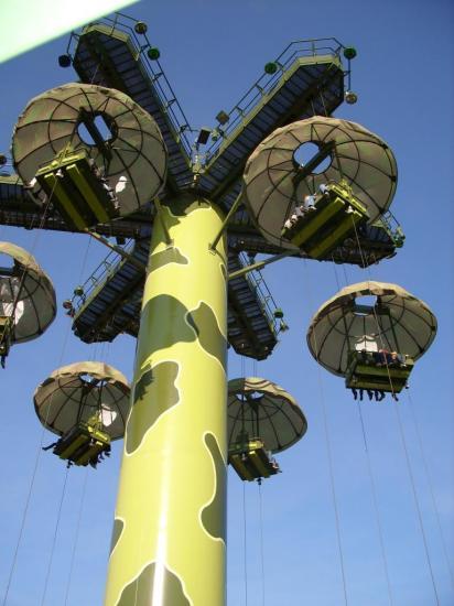 parachut drop