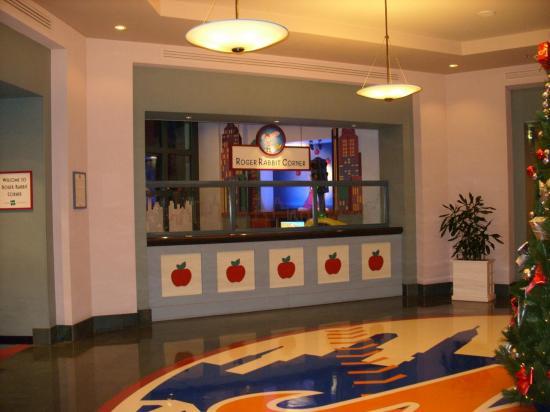 Espace télé pour les enfants, hotel Disney New York